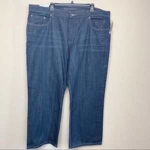 Old Navy Relaxed Fit Men's Dark Blue Jeans